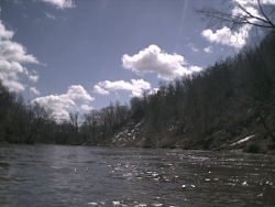 Boone River, March 31st 2001